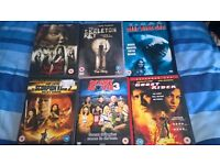 DVDs. all for £5