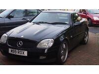 MERCEDES BENZ SLK 230 - CONVERTIBLE AUTO - BLACK