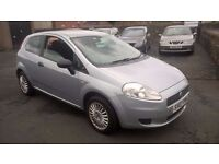 BARGAIN 2007 NEW SHAPE FIAT PUNTO 1.2 IDEAL FIRST CAR PX WELCOME £795ONO