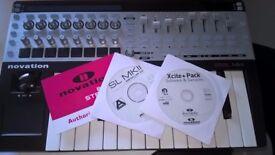 Novation SL25 MKII + Original software. Automap etc... Mint condition