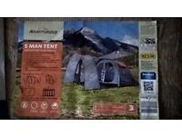 5 man tent adventuridge new