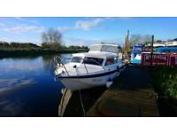 Cabin cruiser river boat 23foot Relcraft Sapphire
