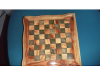 Hand made wooden mult board game box