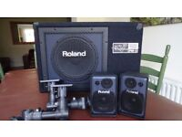 Roland PM-3 Personal Monitor & Speaker System for electronic drums, Percussion & Keyboards