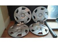 Genuine Seat wheel trims 15 inch