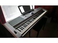 Yamaha dgx 505 digital piano supurb condition swaps or sale