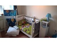 Cot – Gulliver Ikea (bed frame and some other accessories)
