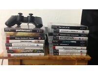 PS3 SLIM - 320 GB - 17 Games incl.