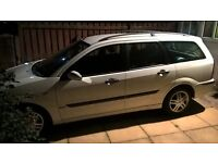 Ford Focus 1.8 TCDi Zetec Estate SPARES OR REPAIR. Priced cheap for quick sale.