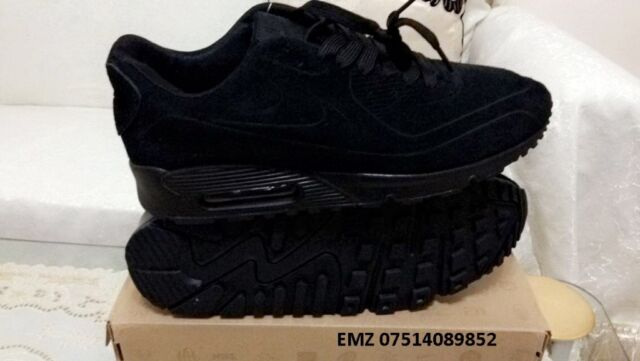 f6ff8e67c40 nike air max 90 hyperfuse suede black independance day all sizes inc  delivery paypal x