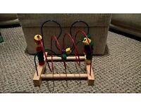 Childrens Wooden Activity Arch