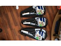 3 xBrand new grip 3 babolat tennis racquets