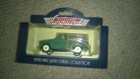 days gone vanguards 50's & 60's collection - 3 boxed model car sets
