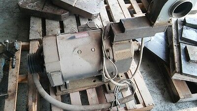 Ge 40hp Dc Motor 11503450 Rpm General Electric With Cooling Fan