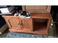 wooden small cupboard