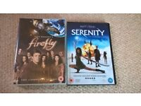 Firefly boxset and Serenity film