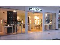 Pandora Seasonal Staff - Peterborough Area