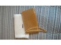 DKNY sequin clutch bag new