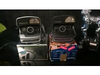 poloroid cameras with boxes