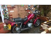 Yamaha SR 125cc Cruiser Motorcycle