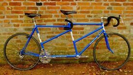 1981 Mercian Tandem - Reynolds 531c competition tubing double parallel
