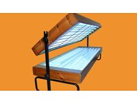 Double canopy sunbed