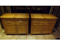Pair of Oak Side Boards - Excellent condition