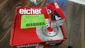 Toyota celica brake discs and pads brand new
