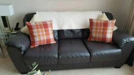 Leather suite 3+2 seater