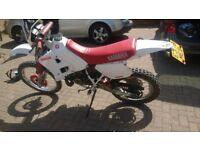 yamaha dtr 125 spares or repair