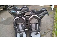 Twin travel system