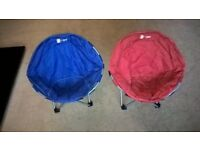 Childrens Hi gear Orbit Camping Chairs