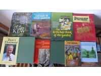 10 vintage gardening books, a valuable source of gardening knowledge. Looking to sell as a job lot.