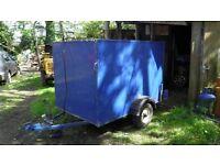 6'x4'x4'box trailer
