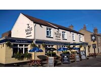 PART TIME BAR STAFF REQUIRED AT THE NAGS HEAD PUB IN HEWORTH,YORK