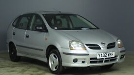 NISSAN ALMERA TINO 1.8 2002 02 PLATE 5 DOOR ESTATE MOT OCTOBER TEL 07455522406