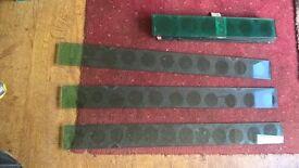GLASS SHELVES 3 LONG, 6 SHORTER. GLUSBURN BD20 8DW W.YORKS
