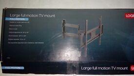 Large full motion TV mount
