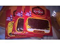Famous Iranian original brand Bahraman Grade 1 Saffron 4g /pack.