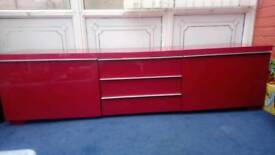 Red cabinet for sale