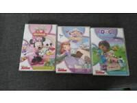 Disney Jr dvds