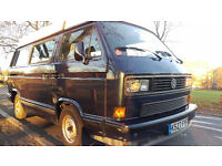 VW T25/T3 Campervan 1.6 Turbo Diesel with very high specification 6 seater/sleeps 4