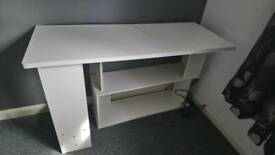 Large White Multi Way Desk