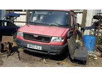 LDV van breaking fr spares