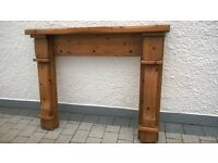 Chunky Pine Wooden Stove/Fireplace Surround