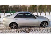Lexus IS200 SE Auto, Low Mileage 80k, Classic luxury car, MOT until 28/03/18, Quick Sale.
