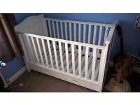 Tutti Bambini White Cot Bed