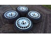 "16"" OZ Racing Monte Carlo Wheels (4x108 Escort Cosworth Ford Sierra Rims Alloys)"