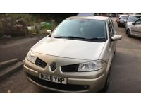 2008 Renault Megane Tech Run VVT 111 5dr 1.6 Petrol Gold BREAKING FOR SPARES