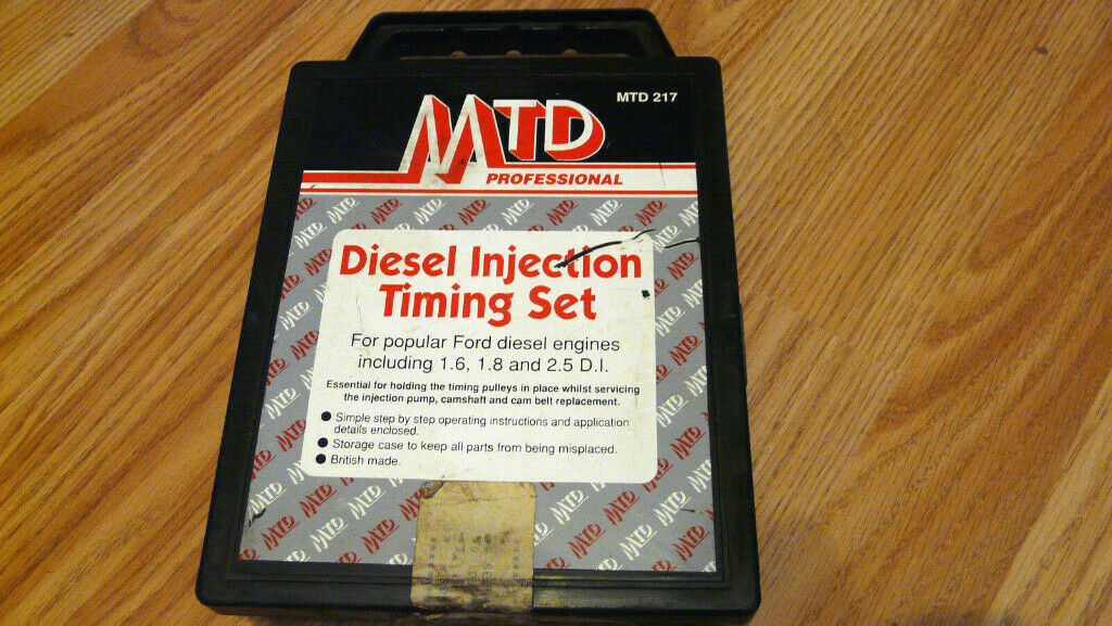 MTD PROFESSIONAL diesel injection timing set for Ford diesel engines | in  Sighthill, Edinburgh | Gumtree